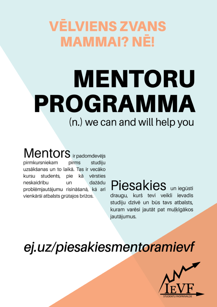IEVF SP Mentoru programma