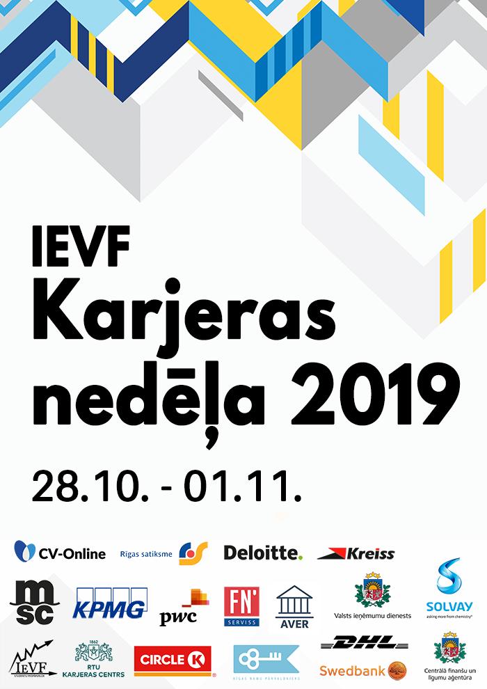 IEVF Karjeras nedēļa 2019