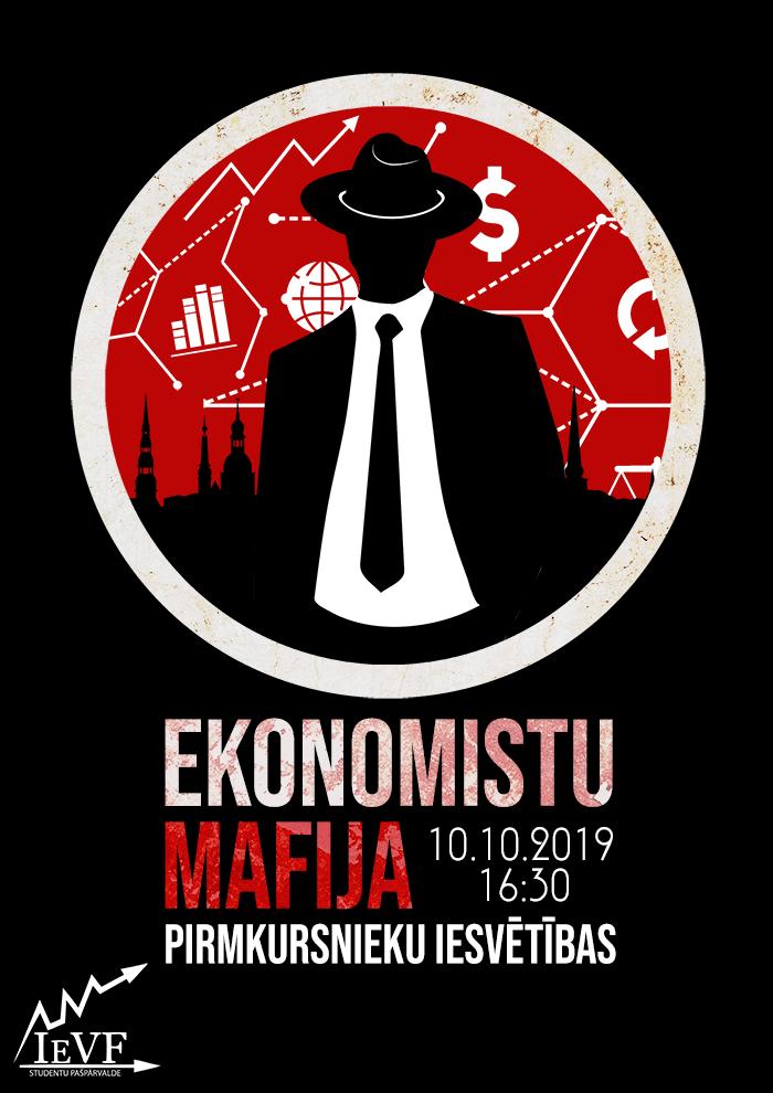 """RTU IEVF SP Iesvētības """"Ekonomistu mafija"""""""